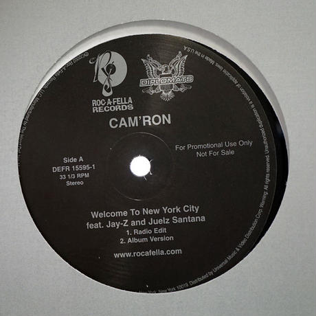 Cam'Ron - Welcome To New York City