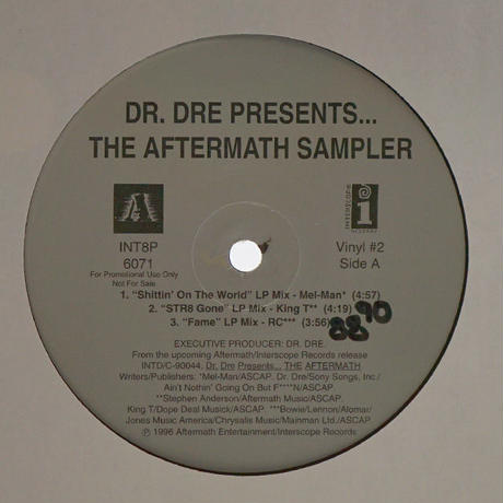 Dr.Dre // Aftermath Sampler (EP) // WD054B
