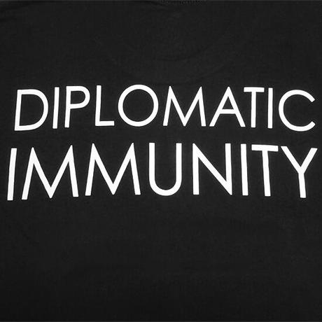 DIPSET U.S.A. Tシャツ -DIP IMMUNITY T-SHIRT / BLACK-