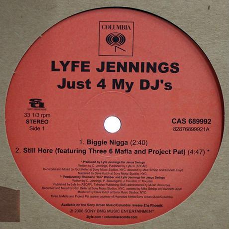 Lyfe Jennings // Just My DJ's // RL009A