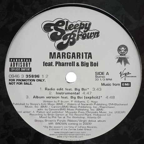 Sleepy Brown // Margarita // RS014A