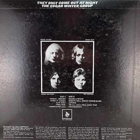 The Edgar Winter Group // They Only Come Out At Night // RE006A