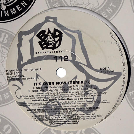 112 - It's Over Now (Remixes)