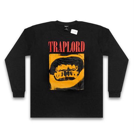 TRAP LORD ロンT -GRILLS L/S TEE / BLACK-