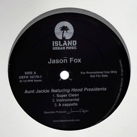 Jason Fox // Aunt Jackie // HJ063A