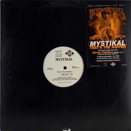 Mystikal // That's The Rapper // HM038A
