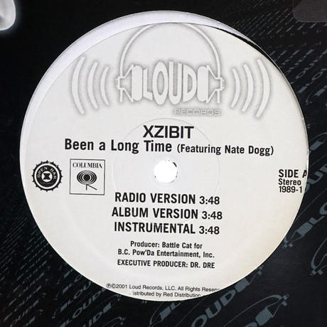 Xzibit // Been A Long Time // WX006A