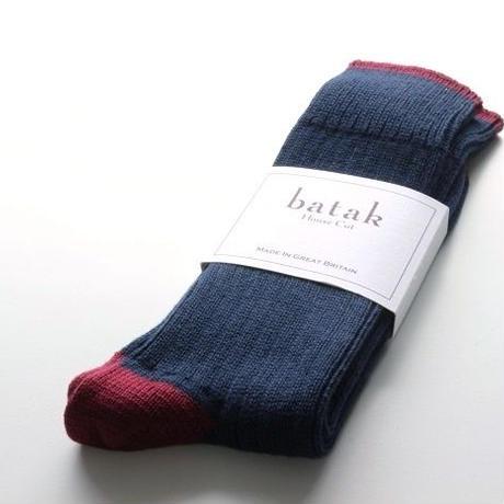 batak Cotton Heel & Toe Socks/Navy