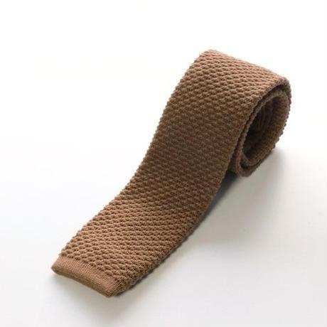 Wool Knit Tie/Camel