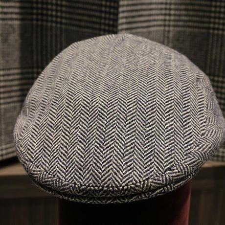 batak Tweed Cap/Grey  Narrow Herringbone