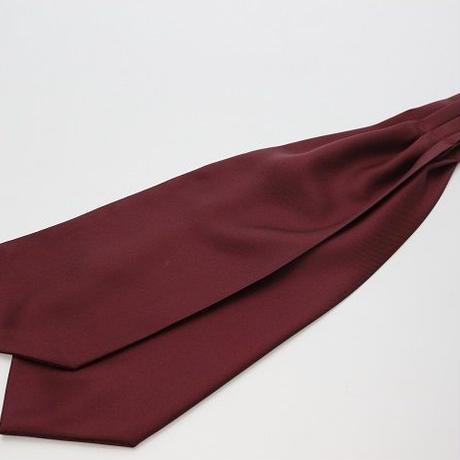 Adamley Ascot Tie/Bordeaux Plain color