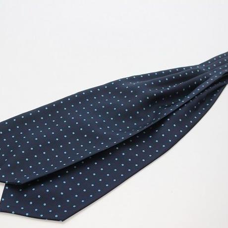 Adamley Ascot Tie/Navy Dot  NDC