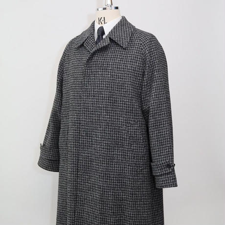 Classic Raglan Sleeve Coat/Hound's Tooth