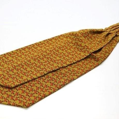 Adamley Wool Ascot Tie/Animal