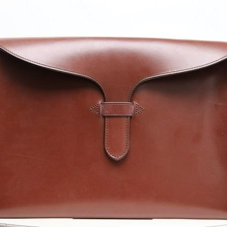 Rutherfords Tongue Folio Case/Chestnut