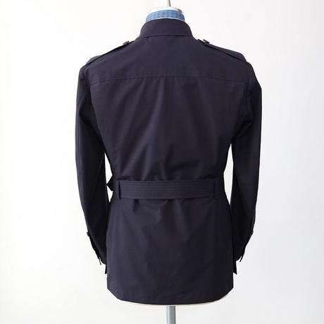 Safari Jacket/Navy Liightweight Cotton