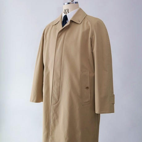 Bal Collar Coat/Beige Heavyweight Cotton BRC3