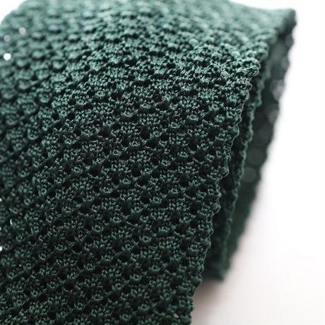 Silk Knit Tie/Green