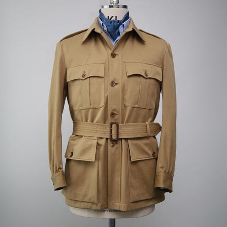 Safari Jacket/Beige Cotton