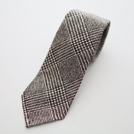 Glen Check Tie/Brown