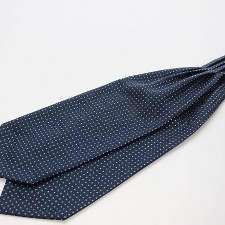 Adamley Ascot Tie/Navy Dot  NDB