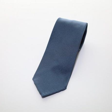 Blue Twill Tie