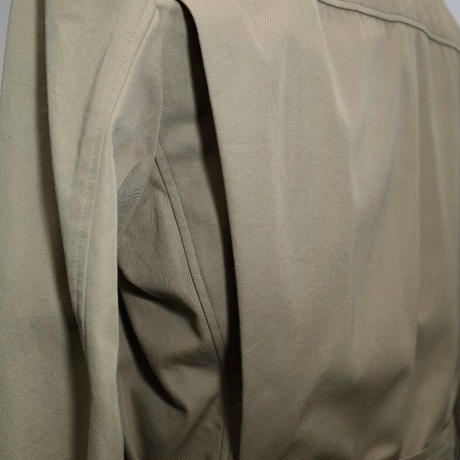 Safari Jacket/Khaki Cotton