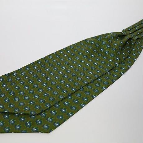 Adamley Ascot Tie/Green Pattern GNC