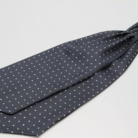 Adamley Ascot Tie/Grey Dot