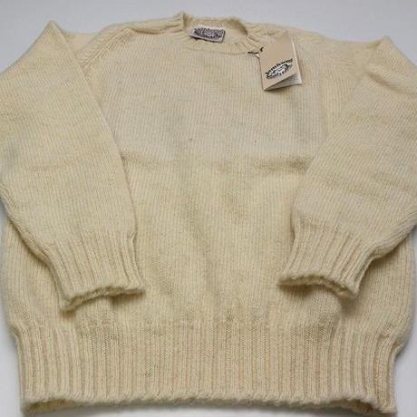 Jamieson's Knit/White