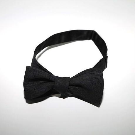 Bow Tie/Black Barathea