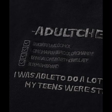 ADULT CHECK LIST SWEAT