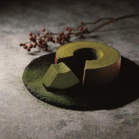 宇治抹茶のプレミアムバウム&和バウム