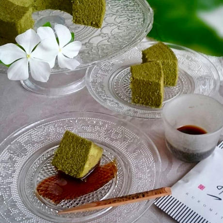 和-なごみ- 黒蜜がけ京都宇治抹茶バウム
