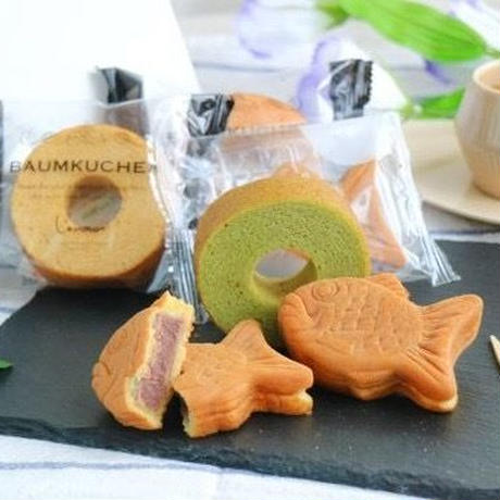和-なごみ- もっちり鯛饅頭&和揃えバウム