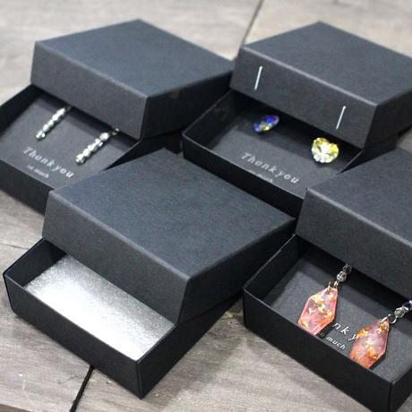 ギフトボックス(ブラック・DIYフタ箱)【50箱】