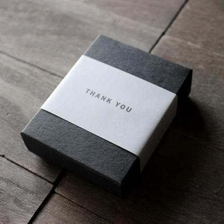 ギフトボックス(ブラック・フタ箱)【5箱】