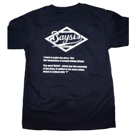 BAYSIS Tシャツ(ブラック)