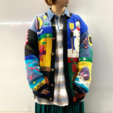 "1990's ""Belle Pointe"" Knit Cardigan"