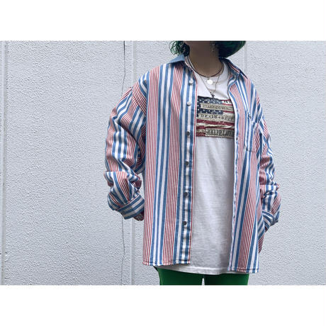 """1980's """"GUESS"""" by GEORGES MARCIANO L/S Shirt"""