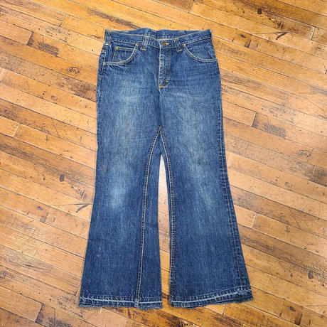 "1970's ""Lee"" Denim Pants SIZE : W34 L29"