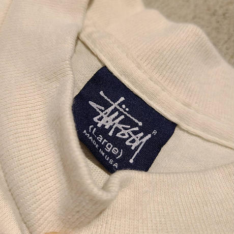 """2000's """"STUSSY"""" S/S Tee Made in USA SIZE : L"""