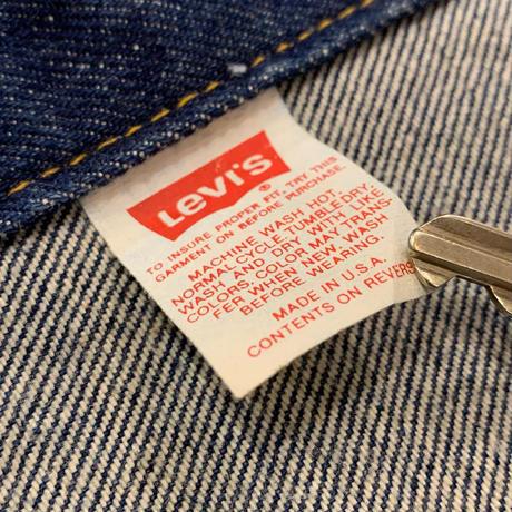 """1990's """"Levi's"""" 70506-0216 SIZE : 40"""