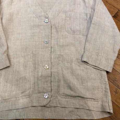 """1990's """"Eddie Bauer"""" Linen Jacket SIZE : M"""