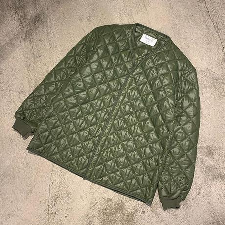 """1980's """"Belgium Military"""" Quilting Liner Jacket SIZE : M"""