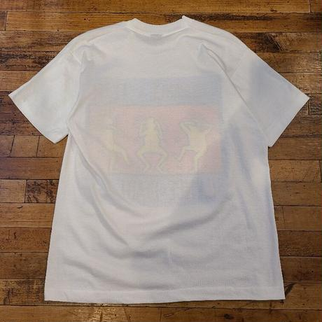 """1980's """"Keith Haring"""" Ignorance=Fear T-Shirt SIZE : L"""