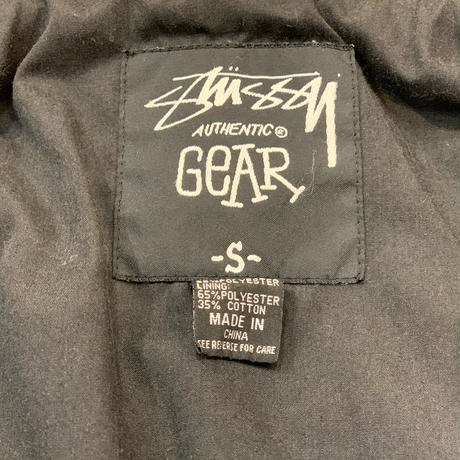 """2000's """"Stussy"""" Cotton × Polyester Jacket SIZE : S,M"""