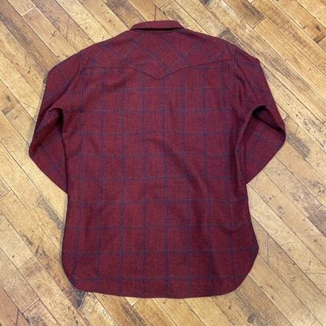 "1970's ""PENDLETON"" Wool Shirts SIZE : L"