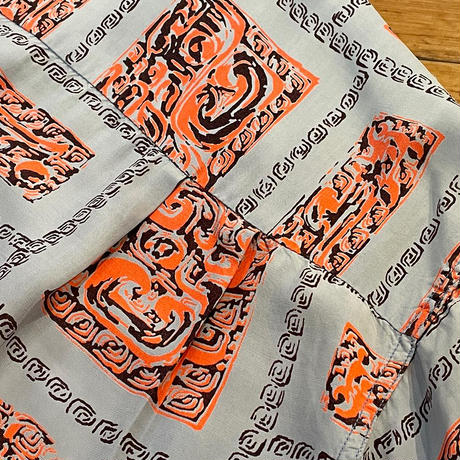 1950's Hawaiian Shirt SIZE : L