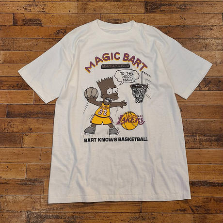 """1980's~ """"The Simpsons"""" Short Sleeve Tee SIZE : M,L"""